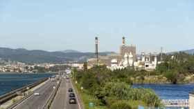 La fábrica de celulosa de Ence Pontevedra.