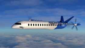 Figuración de un avión eléctrico de Dante Aeronautical. EE
