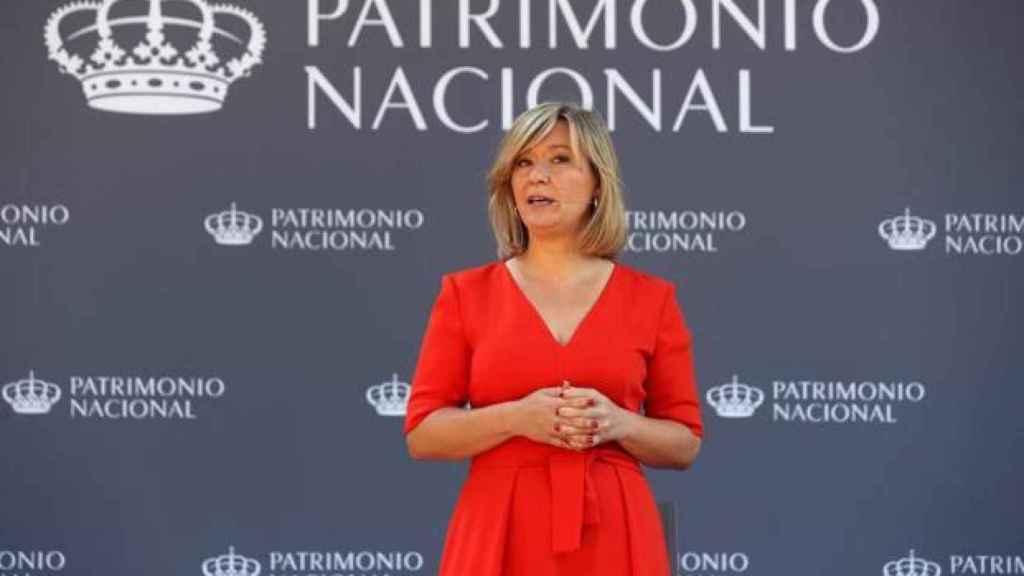 La presidenta de Patrimonio Nacional, Llanos Castellanos, en una imagen de archivo.