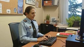 Loreto Gutiérrez, la primera coronel del Ejército del Aire.