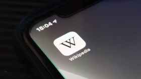Aplicación de la Wikipedia en un iPhone