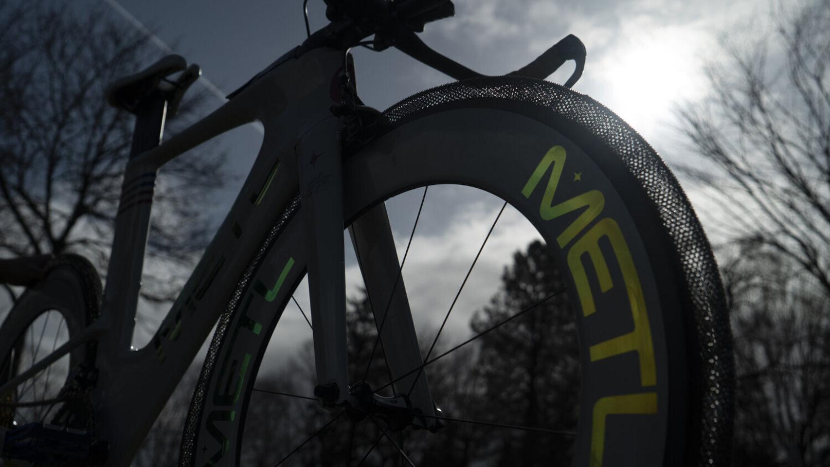 Estas ruedas de bicicleta con tecnología de la NASA no se pueden pinchar