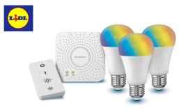 Las bombillas inteligentes de Lidl están en oferta.