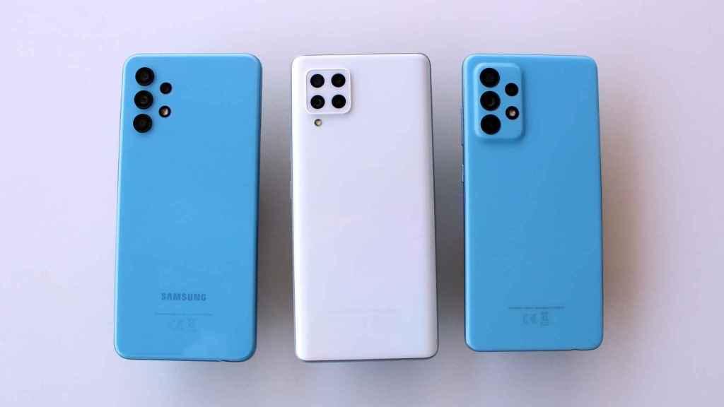 Así son  los últimos móviles de gama media Samsung Galaxy A.