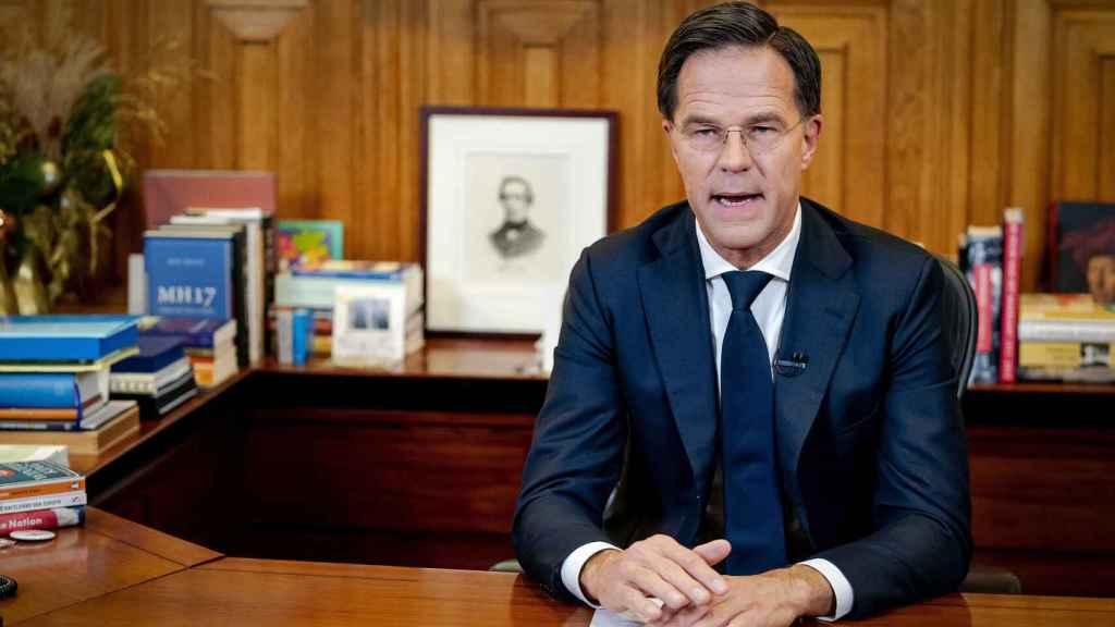 El primer ministro holandés, Mark Rutte, lidera el bando de los países 'frugales'