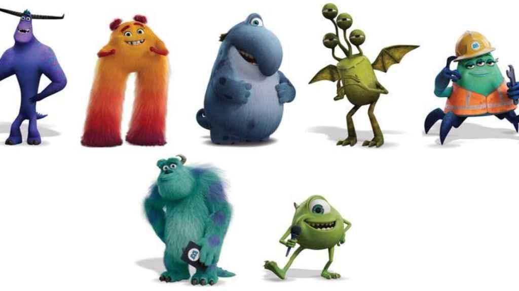 Personajes de 'Monstruos a la obra'.