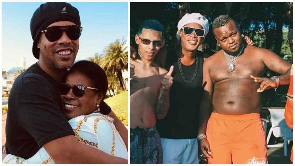 Ronaldinho, tras la muerte de su madre