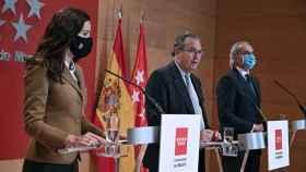 Eugenia Carballedo, Enrique Ossorio, Enrique Ruiz Escudero.