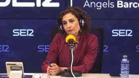 María Jesús Montero, ministra de Hacienda y portavoz del Gobierno, en la Cadena SER.