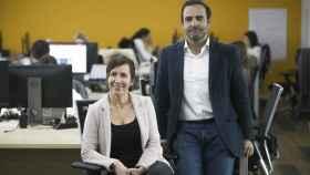 Marta Vallés y Luis Carbajo, cofundadores de Vottun
