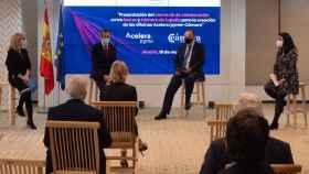 Presentación del convenio entre  Red.es y Cámara de España