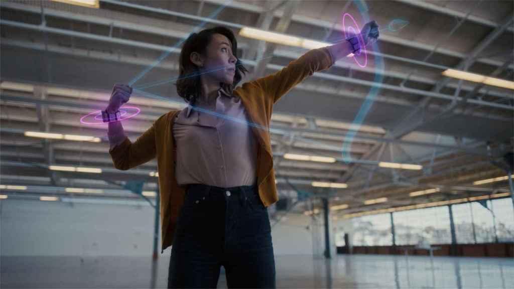 La pulsera de Facebook traduce nuestros movimientos a aplicaciones y juegos