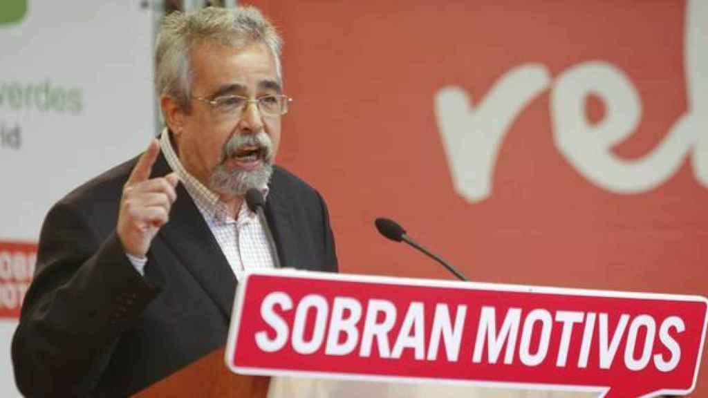 Ángel Pérez, exdiputado de IU y candidato a la alcaldía de Madrid en 2007.