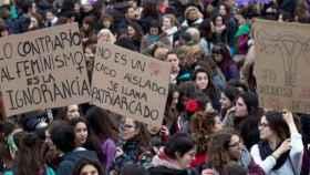 Manifestación feminista.