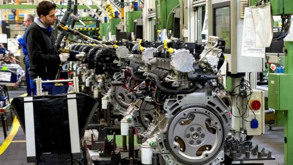 Planta de motores de Ford Almussafes. EE