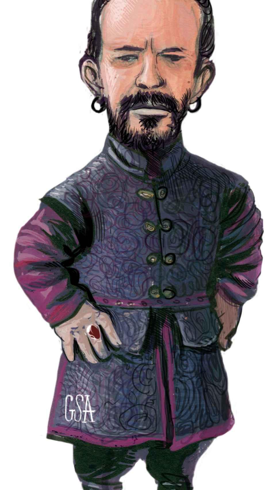 Pablo Iglesias como Tyrion Lannister.