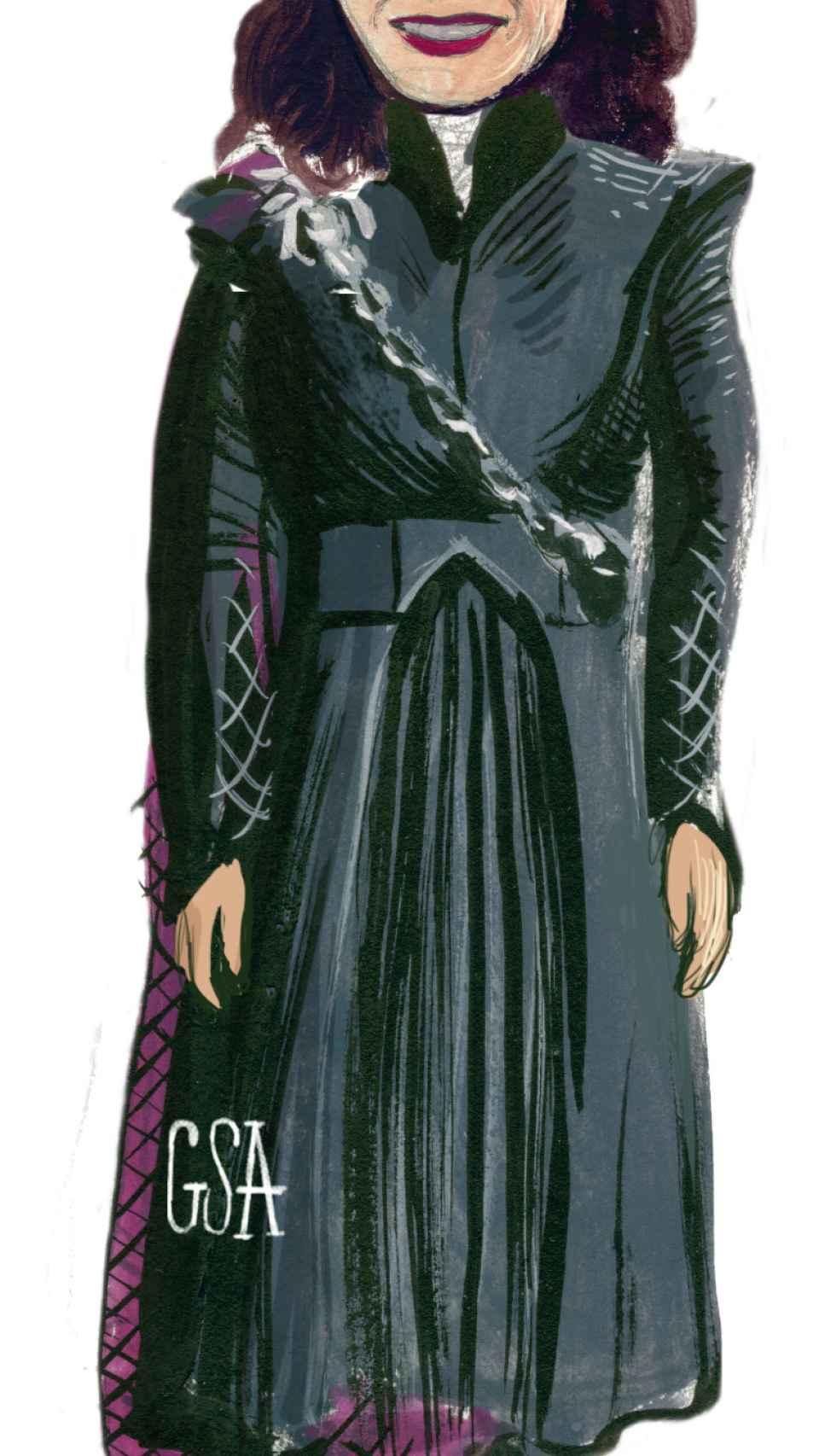 Daenerys Targaryen como Isabel Díaz Ayuso.