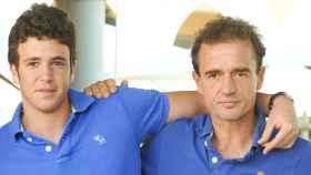 Álex y Alessandro Lequio, en una imagen de archivo.