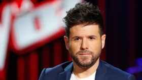 Pablo López, durante la presentación de 'La Voz', en enero de 2020.