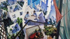 Artistas en una terraza o Conversaciones sobre un nuevo arte Mediterráneo, 1976.