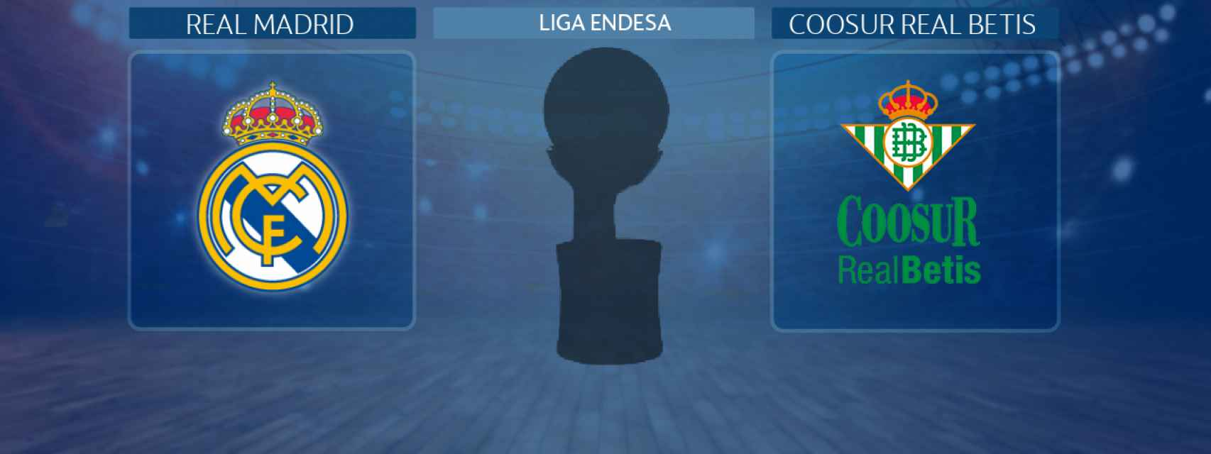Real Madrid - Coosur Real Betis, partido de la Liga Endesa