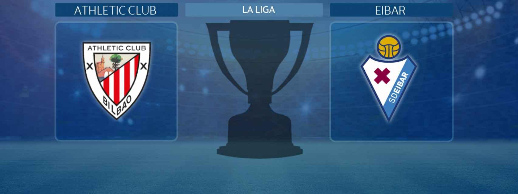 Athletic Club - Eibar, partido de La Liga