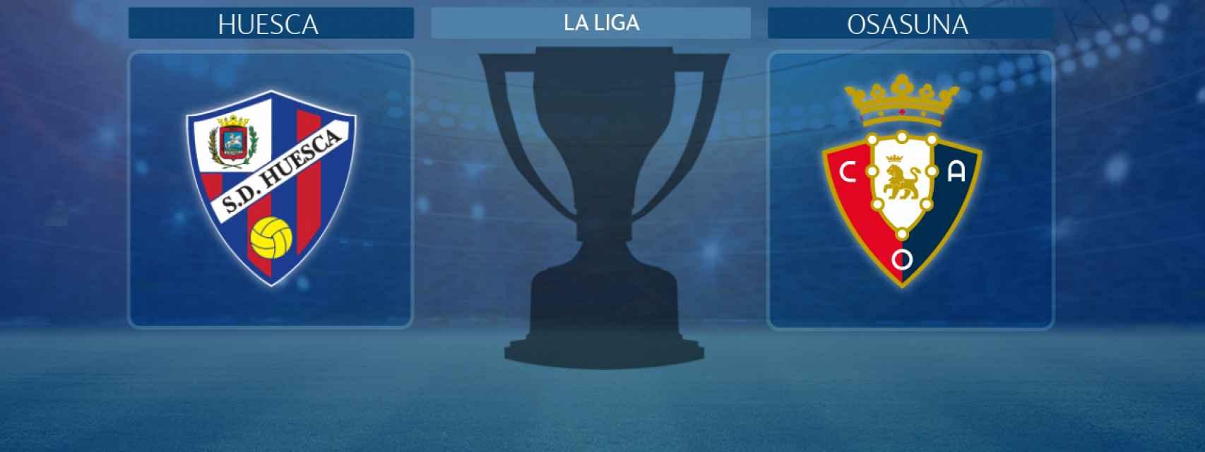 Huesca - Osasuna, partido de La Liga