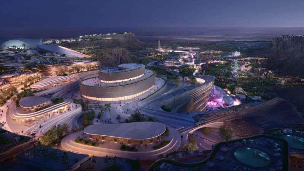 Imagen de la nueva 'megaciudad' de Quiddiya