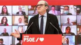 Ángel Gabilondo, en su presentación extraoficial como candidato a las elecciones del 4-M en Madrid.