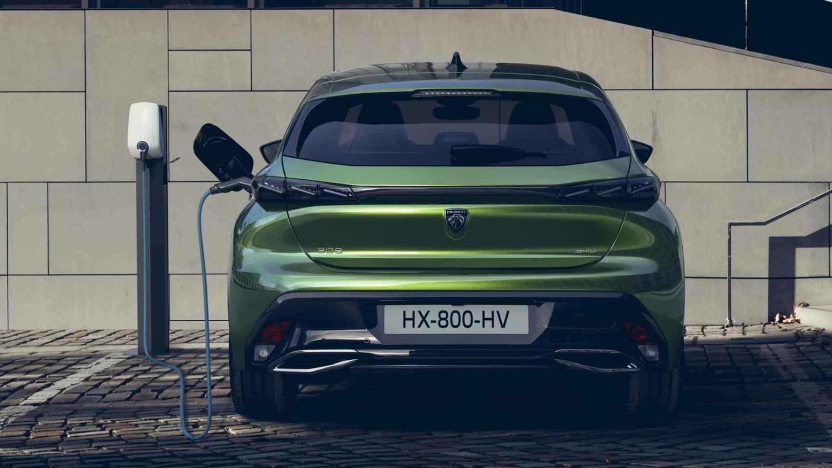 Todas las fotos del nuevo Peugeot 308 de 2021