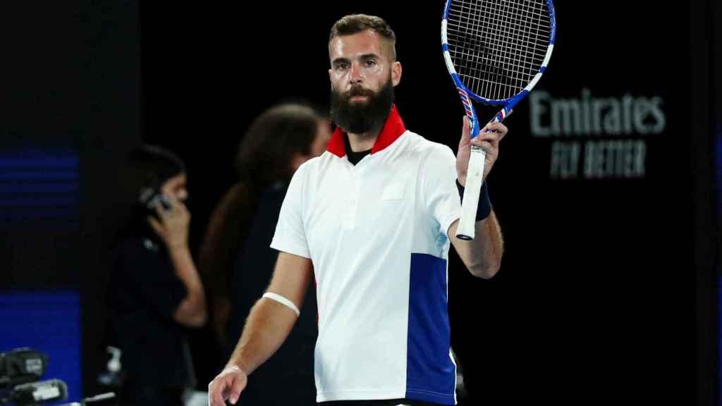 Benoit Paire durante la ATP Cup