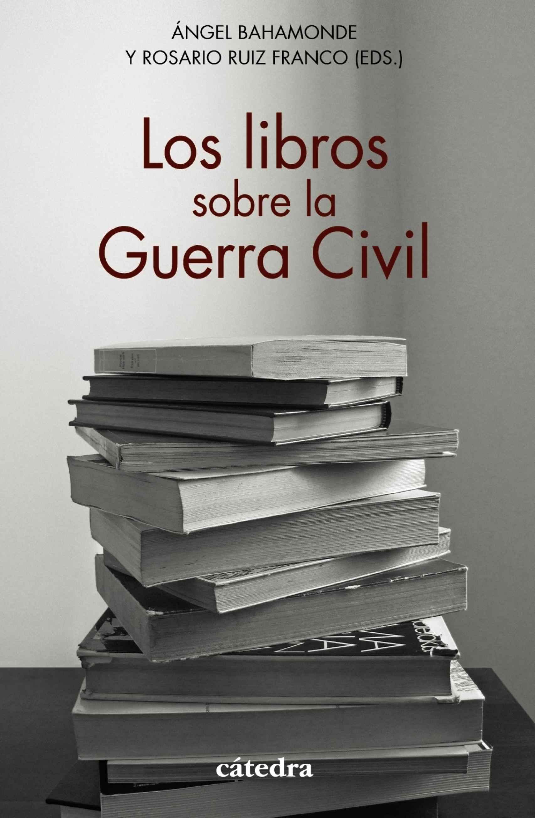 Portada de 'Los libros sobre la Guerra Civil'.