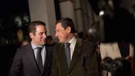 Juanma Moreno y Teodoro García Egea en una imagen de archivo.