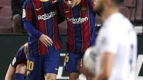 Messi y Pedri