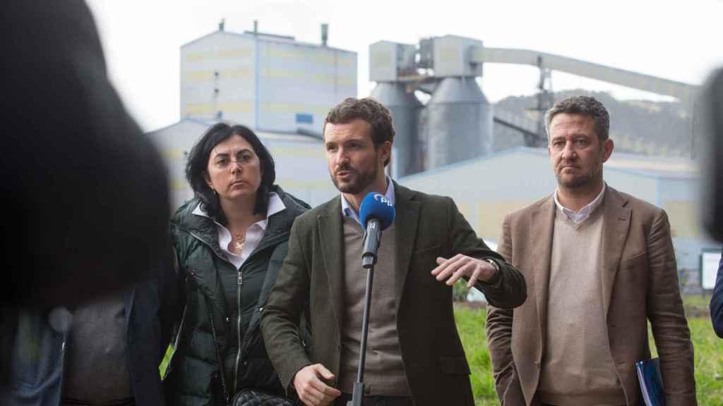 Pablo Casado y Jaime de Olano.