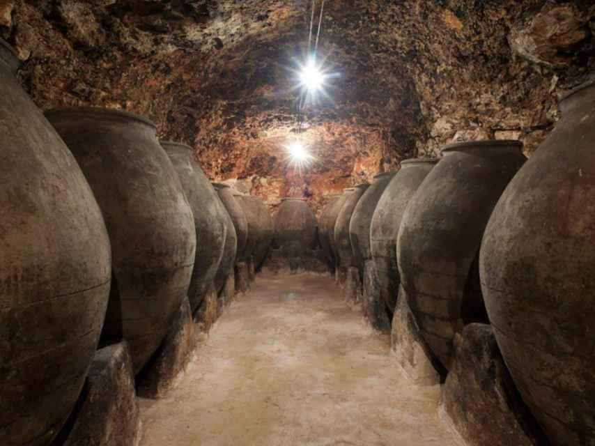 Bodegas subterráneas de la Ruta del Vino de Madrid.