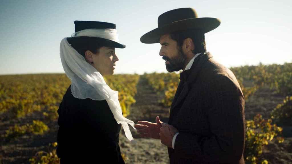 Leonor Watling y Rafael Novoa en un fotograma de 'La templanza'.