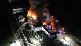 El centro de datos de OVH incendiado el pasado 10 de marzo