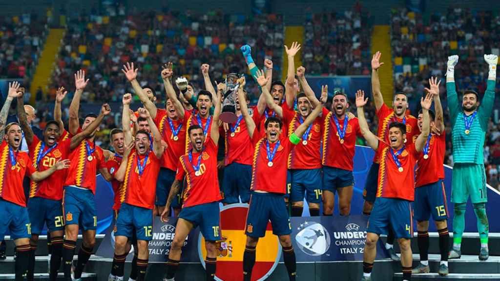 La selección sub21 levanta el título del Europeo sub21 de 2019