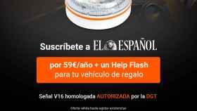 Suscríbete a El Español y di adiós a los triángulos de emergencia con la nueva luz  Help Flash
