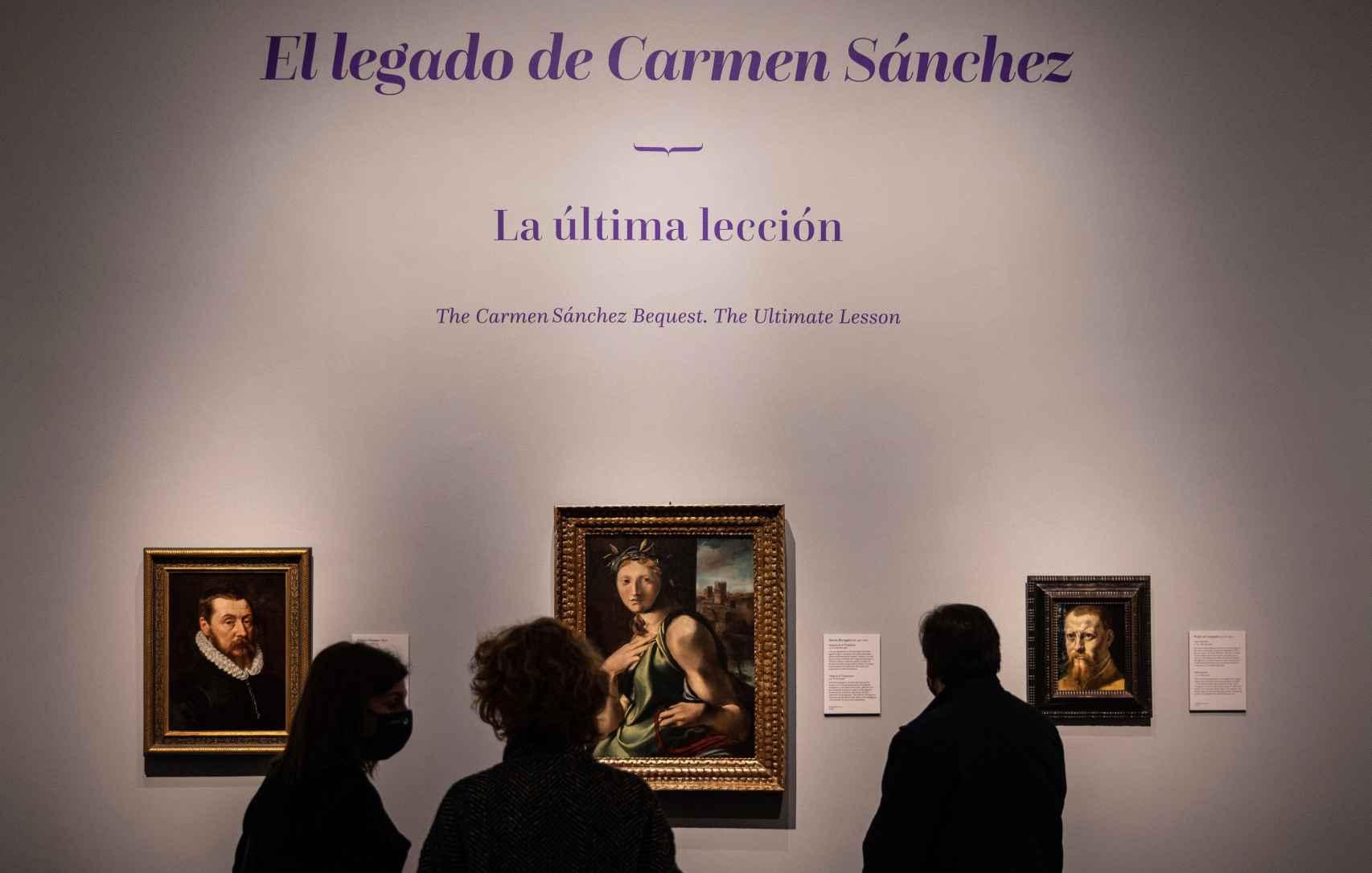 La inesperada donación de la profesora ha permitido al Prado hacer 15 adquisiciones.