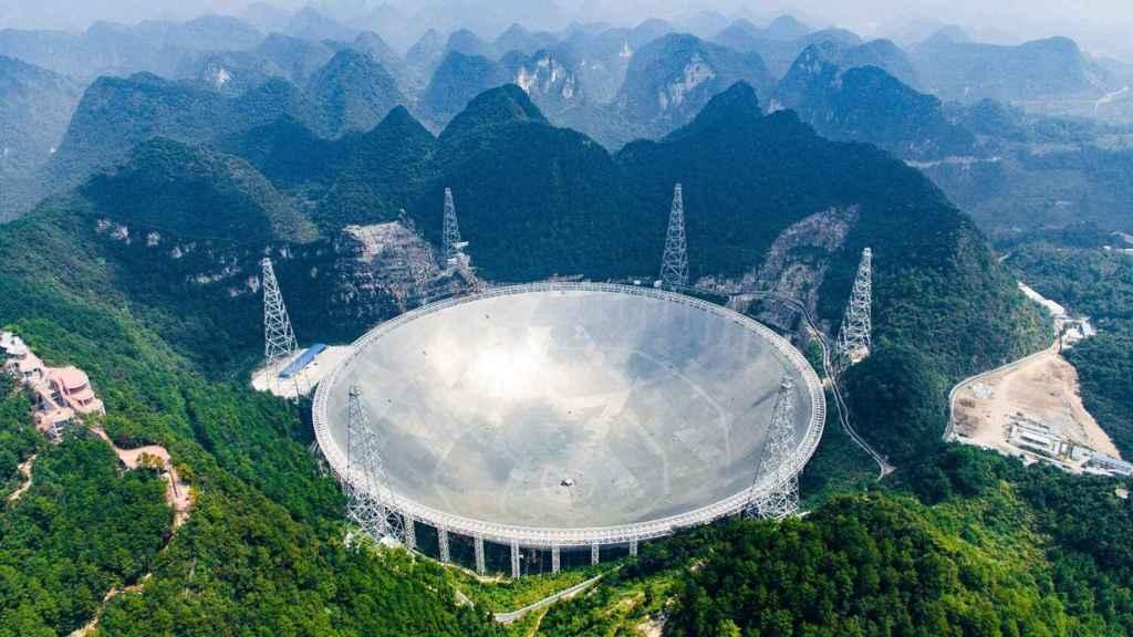 Radiotelescopio más grande del mundo