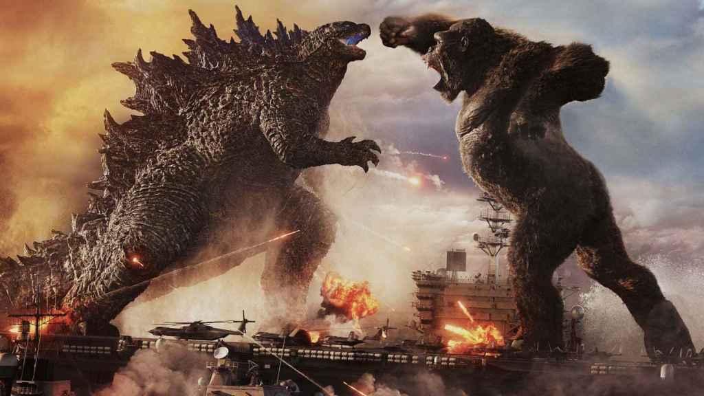 Godzilla Vs Kong, el primer gran estreno en varios meses.