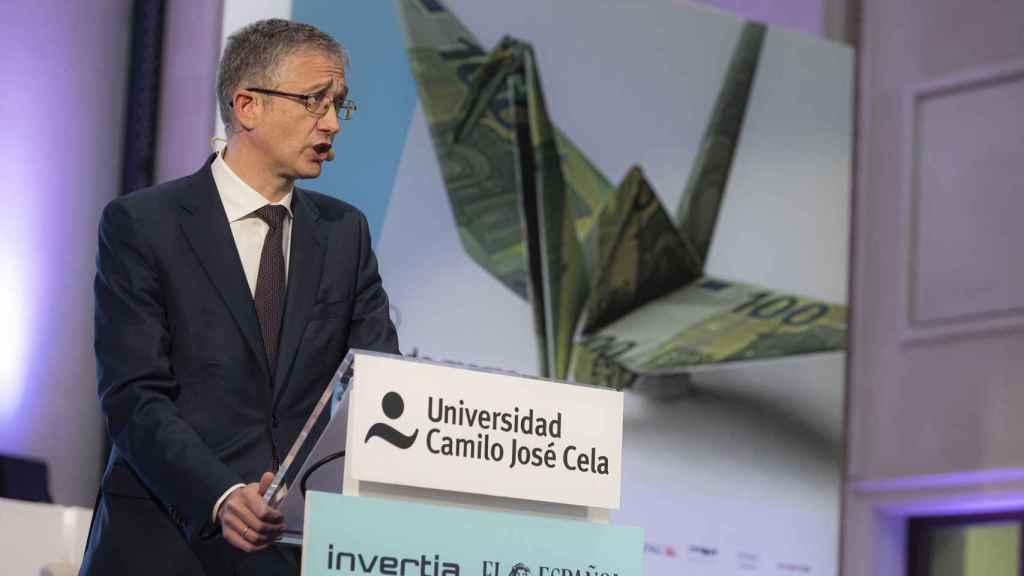 El gobernador del Banco de España, en el I Simposio Observatorio de las Finanzas.