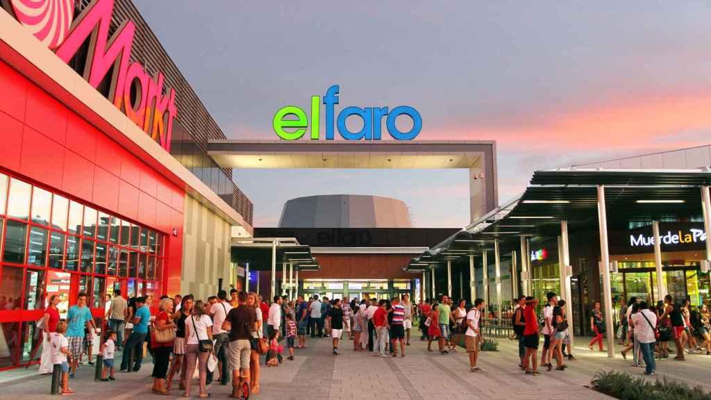 Centro comercial El Faro (Badajoz), propiedad de Castellana Properties.