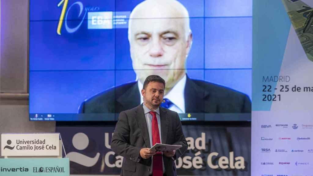 El presidente de la EBA, José Manuel Campa, participa en el I Simposio Observatorio de las Finanzas.