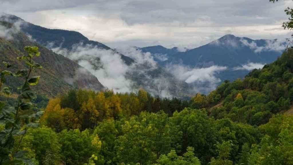 Valle de Unarre, en el Parc Natural de l'Alt Pirineu.