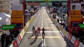 Victoria de Kron en la 1ª etapa de la Volta 2021