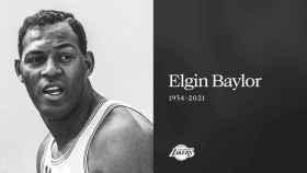 Elgin Baylor, leyenda de Los Angeles Lakers y de la NBA