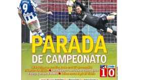 La portada del diario AS (22/03/2021)